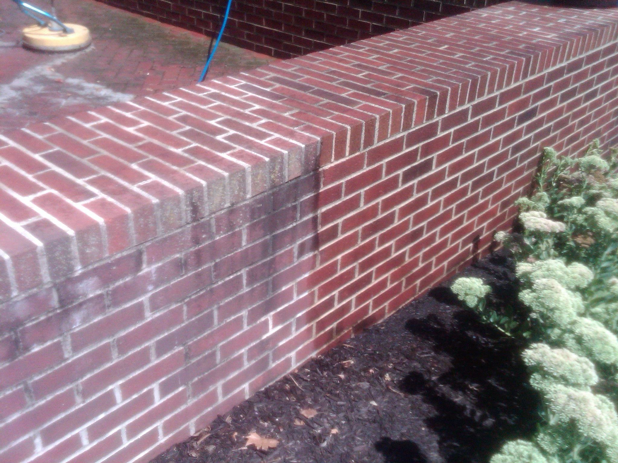 All decked out services inc 717 576 8013 house power - How to clean brick house exterior ...